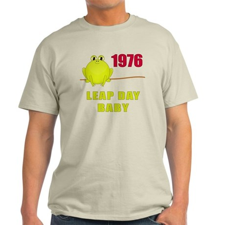 1976 Leap Year Baby Light T-Shirt
