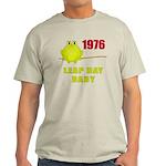 1976 Leap Year Baby Light T-Shirt