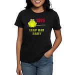 1976 Leap Year Baby Women's Dark T-Shirt