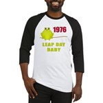 1976 Leap Year Baby Baseball Jersey