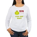 1976 Leap Year Baby Women's Long Sleeve T-Shirt