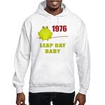 1976 Leap Year Baby Hooded Sweatshirt