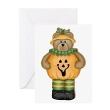Trick or Treat Teddy Greeting Card
