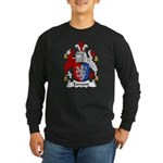 Esmond Family Crest Long Sleeve Dark T-Shirt