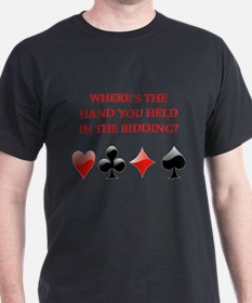 duplicate bridge gifts T-Shirt