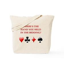 duplicate bridge gifts Tote Bag