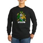 Emerson Family Crest Long Sleeve Dark T-Shirt
