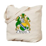 Emerson Family Crest Tote Bag
