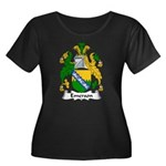 Emerson Family Crest Women's Plus Size Scoop Neck