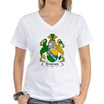 Emerson Family Crest Women's V-Neck T-Shirt