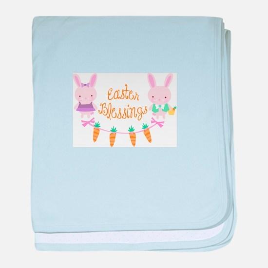 EASTER BLESSINGS baby blanket