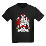 Elvin Family Crest Kids Dark T-Shirt