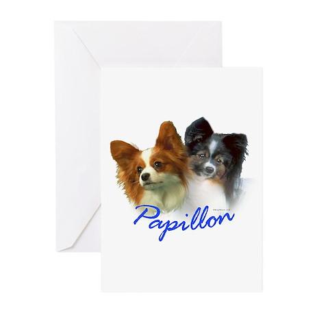 papillon-1 Greeting Cards (Pk of 10)