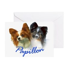 papillon-1 Greeting Card