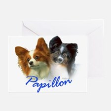 papillon-1 Greeting Cards (Pk of 20)