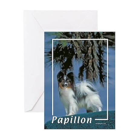 papillon-2 Greeting Card