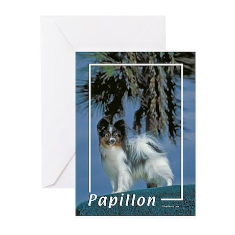 papillon-2 Greeting Cards (Pk of 20)
