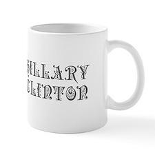 Hillary Clinton-Pre gray 550 Mugs