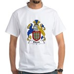 Elicott Family Crest White T-Shirt