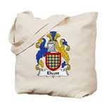 Elicott Family Crest Tote Bag