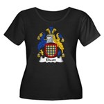 Elicott Family Crest Women's Plus Size Scoop Neck
