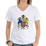 Elicott Family Crest Women's V-Neck T-Shirt