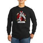 Elford Family Crest Long Sleeve Dark T-Shirt