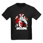 Elford Family Crest Kids Dark T-Shirt