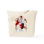 Elford Family Crest Tote Bag