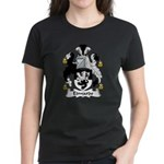 Edwards Family Crest Women's Dark T-Shirt