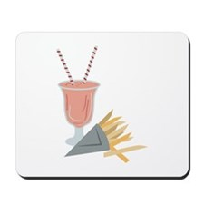 Milkshake & Fries Mousepad