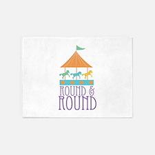 Round & Round 5'x7'Area Rug