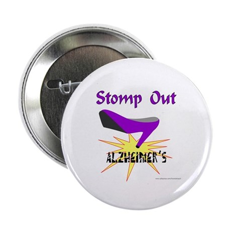 "ALZHIEMER'S 2.25"" Button (100 pack)"