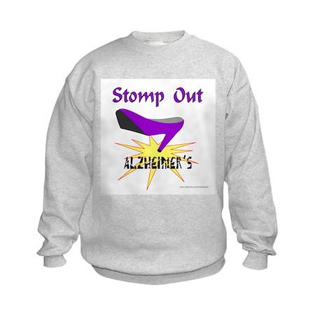 ALZHIEMER'S Kids Sweatshirt