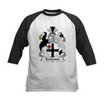 Eccleston Family Crest Kids Baseball Jersey