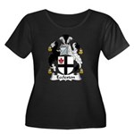 Eccleston Family Crest Women's Plus Size Scoop Nec
