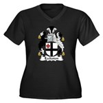 Eccleston Family Crest Women's Plus Size V-Neck Da