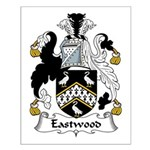 Eastwood Family Crest Small Poster