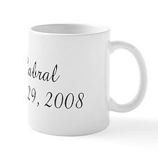 Mrs N Cabral     Est March  Coffee Mug