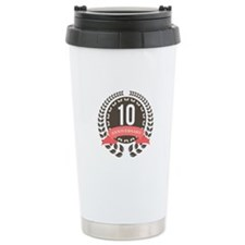 10 Years Anniversary La Travel Mug