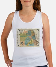 Vintage Map of San Francisco (1890) Tank Top