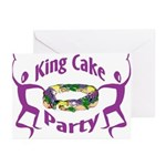 King Cake Party Greeting Cards (Pk of 10)