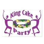 King Cake Party Postcards (Package of 8)