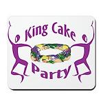 King Cake Party Mousepad