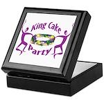 King Cake Party Keepsake Box