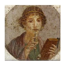 Pompeii Tile Coaster
