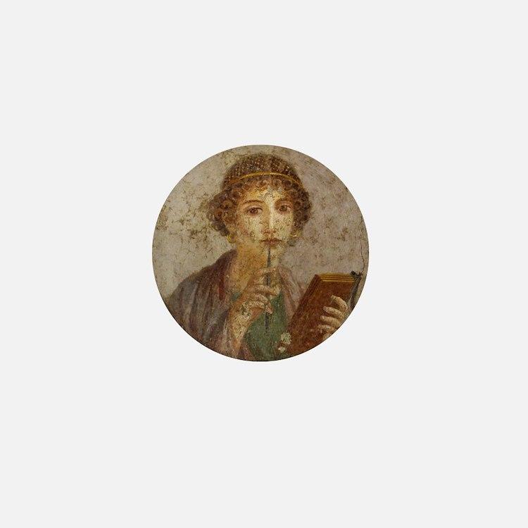 Pompeii Mini Button