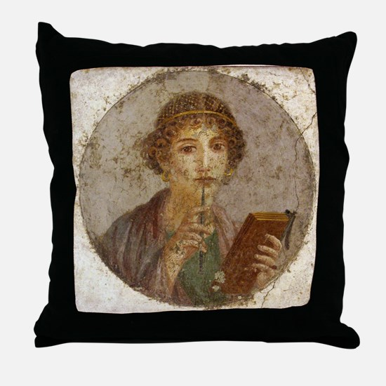 Pompeii Throw Pillow