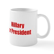 Hillary for President-Imp red 400 Mugs