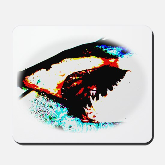Shark Jaws Mousepad